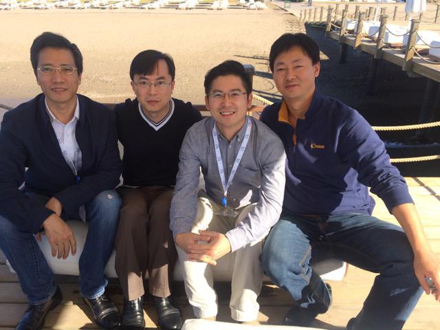 Alibaba executives and Dr. Andy Song