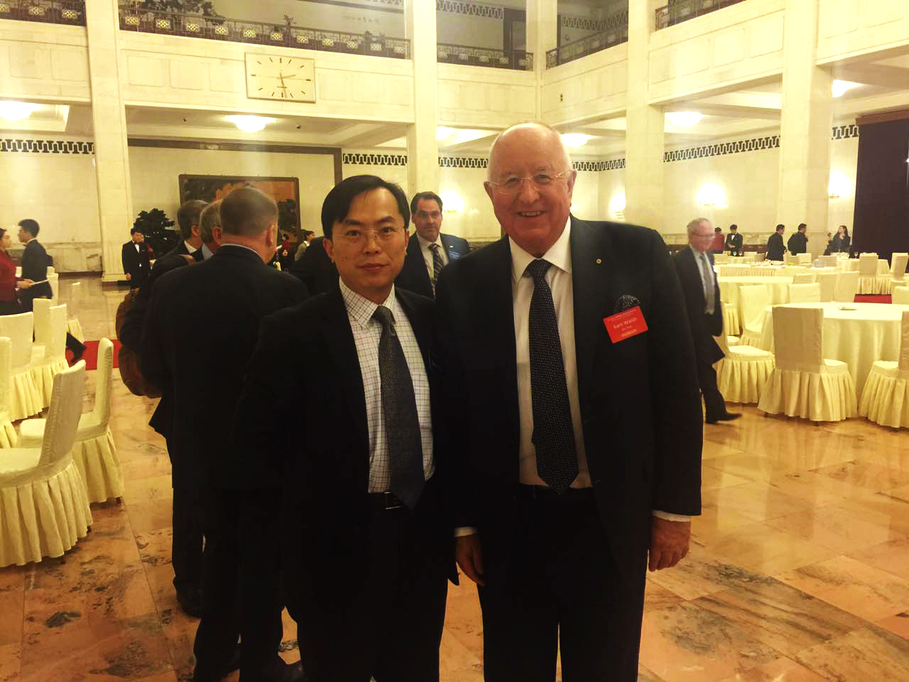 Sam Walsh and Dr. Andy Song