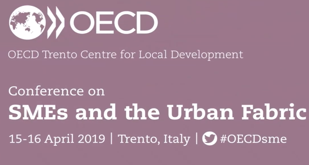 Sandrine Kergroach (OECD) SMEs and the Urban Fabric 15-16 April 2019